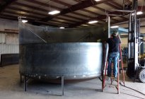 Oil Blending Tank Fabrication