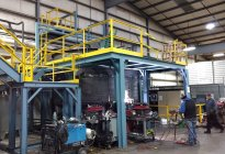 Synthetic Lubricant Blending System Installation