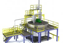 Synthetic lubricant blending tank system